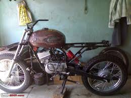 rx dirt bike mod vintage scrambler page 3 team bhp