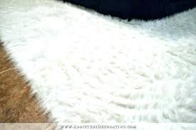 small faux fur rugs faux fur rug how to fake a white rug how to make small faux fur rugs