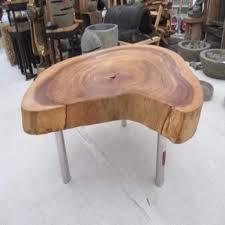 Tisch Aus Baumscheibe Fkh