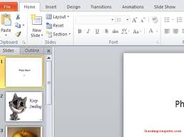 Ms Office 2010 Ppt Templates Microsoft Powerpoint 2010 It Computer Training