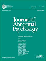 journal of abnormal psychology cover of journal of abnormal psychology medium