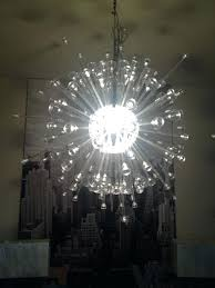 chandeliers ikea stockholm chandelier my sputnik style random spokes instead of following the directions
