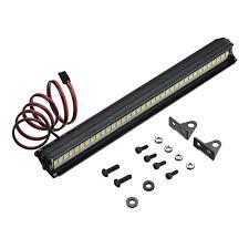 36 Led Light Bar 36led Super Bright Led Light Bar Roof Lamp Set For 1 10 Traxxas Trx4 Scx10 90046 Crawler Rc Car
