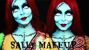 sally nightmare before makeup tutorial