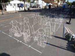 3d Sidewalk Art Lego Terracotta Warriors Twistedsifter