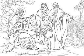 Disegno Di Gesù Sfama 5000 Persone Da Colorare Disegni Da Colorare