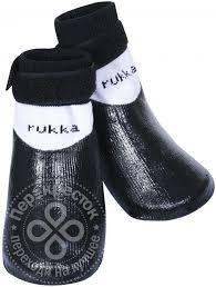Купить <b>Носки для собак Rukka</b> Pets Rukka Rubber Socks р.1 ...