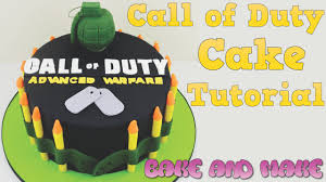 How to make a Call of Duty cake tutorial Bake and Make with