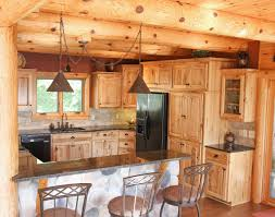 kitchen astonishing log kitchen cabinets for custom cabin and bath fine bathroom cabinet koselig log kitchen