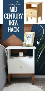 diy modern ikea tarva hack. Best IKEA Hacks And DIY Hack Ideas For Furniture Projects Home Decor From - Easy Mid Century Tarva Nightstand Creative Ha\u2026 Diy Modern Ikea D