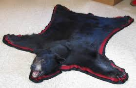 5 black bear rug rug mount regular 1200 00 special 999