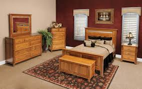 Oak Furniture Bedroom Sets Usa Made Furniture Amish Portland Oak Furniture Warehouseoak