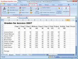 excel functions tab