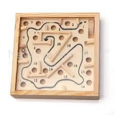 Wooden Maze Games Wooden Labyrinth Puzzle Maze Game for Kids Educational 100100http 29