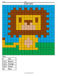 Free Math Coloring Pages Pixel Art And Math
