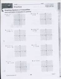 15 awesome solving systems of equationsgraphing worksheet within solving systems of equations by graphing worksheet answers