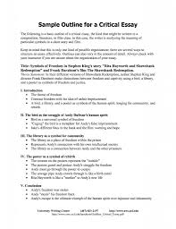 critical response essay format structure a critical essay essay  fifth business essays business essay