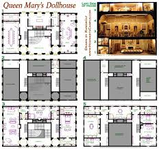 miniature furniture plans. queen maryu0027s dollhouse floor plan miniature furniture plans a