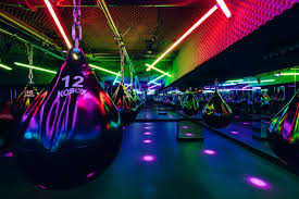 Studio Vibe Lights Shh Designs Koboxs Third Nightclub Themed Boxing Gym In