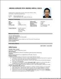 Latest Resumes Samples Resume For Freshers Mechanical Engineers Doc