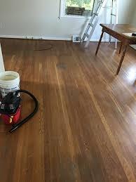White Pine Hardwood Floor Refinishing by Beers Flooring for Pasadena