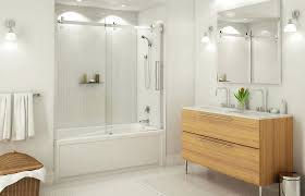 bathtub with glass doors frameless striking bathtub glass door bathtubs