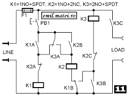 impulse relay wiring diagram impulse image wiring emil matei on off switch using 3 relays ten versions on impulse relay wiring diagram