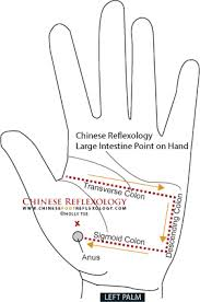 Chinese Reflexology Hand Points