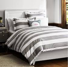 33 exclusive inspiration gray and white striped duvet grey bedding sets designs cover