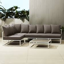 minimalist outdoor furniture. plain outdoor casbah outdoor sectional for minimalist outdoor furniture