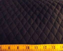 Solid Black QUILTED FABRIC Double Sided 1  Diamond Pattern BTY | eBay & Image is loading Solid-Black-QUILTED-FABRIC-Double-Sided-1-034- Adamdwight.com