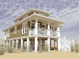 uncategorized contemporary art elevated beach house plans