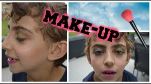 i put makeup on my little brother