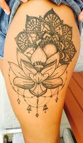 30 Trending Thigh Tattoo Ideas Mybodiart