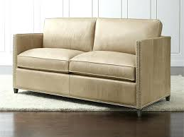 crate and barrel leather sofa sleeper best of inspirational quality