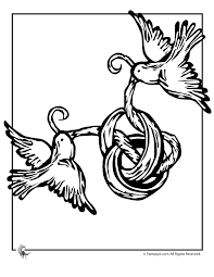 Small Picture May Day Ribbon Birds Coloring Page Woo Jr Kids Activities