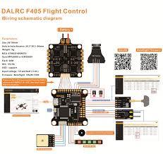 dalrc f405 betaflight osd bec stm32f405rgt6 flight controller for rc specification