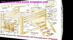 Plans For A Loft Bed Bunk Bed Plans Loft Bed Plans Video Dailymotion