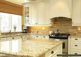 Backsplashes For Kitchens With Granite Countertops Magnificent Backsplash With Granite Countertops Subway Tile Idea Backsplash