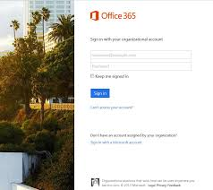 What Is This Office 365 Login Page Its Not Taking My User Id And