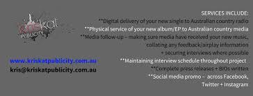 Australian Country Radio Charts Kriskat Publicity Artist Tour Publicity Over 10 Years