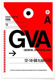 Paris Blues Size Chart Gva Geneva Poster