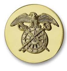 Sta Brite Quartermaster Branch Enlisted Insignia