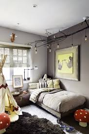 diy childrens bedroom furniture. Diy Celing Light Fixture Of Branches Is A Nice Addition To An Eclectic Kids  Room Childrens Bedroom Furniture R