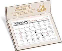 Desk Calendar W 3 Month View Natural