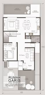the second floor of this two story narrow lot house plan composed of the family room upon climbing the stairs this is the area where the family can gather