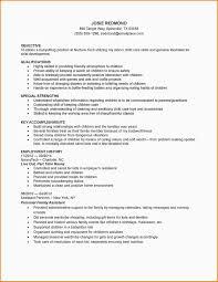 Babysitter Resume Examples Best Of Resume Resume Examples Babysitter Resume Sample Template 8