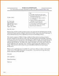 Letter Of Intent Letter Of Intent For Kindergarten Sample