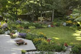 Backyard Design Ideas On A Budget large backyard ideas lawn gardenbeautiful large backyard gardens design with small fish pond also decorative planters