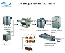 China Full Automatic Food Processing Machine For Chocolate